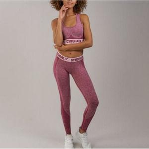 Gymshark Beet Flex Chalk Pink Leggings
